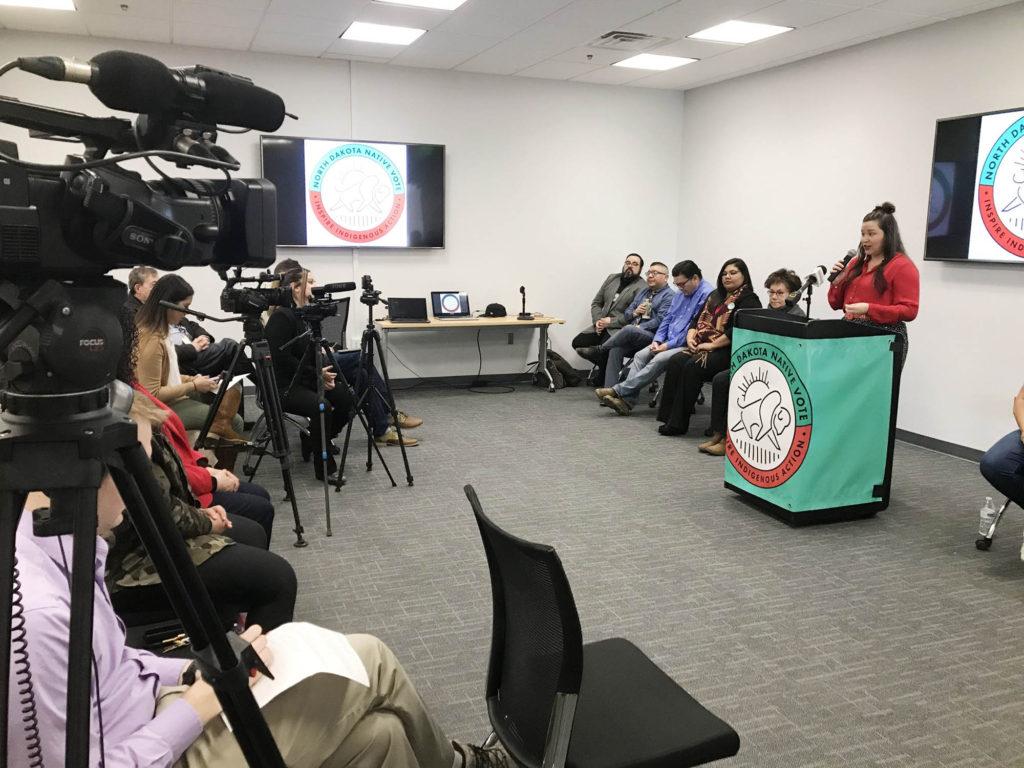 north dakota native vote in the news